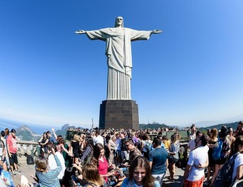 Rio Sunset Tour Including Sugarloaf, Christ the Redeemer, Cathedral and Selaron