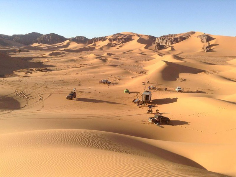 4x4 tour: Authentic Algerian desert