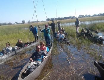 3-Day Fully Catered Mokoro (Canoe) Safari Okavango Delta