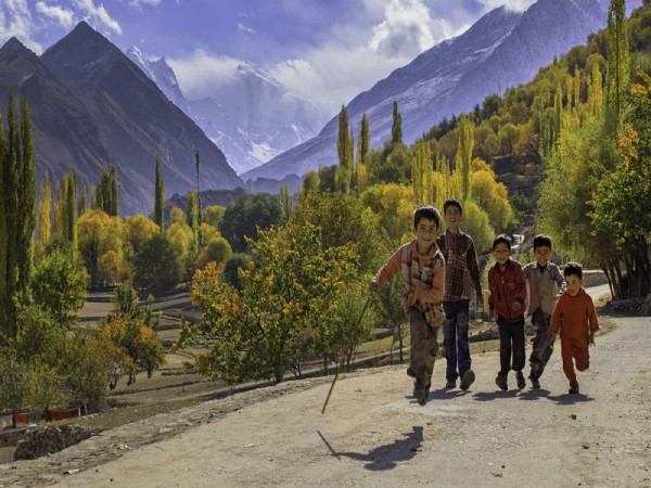 Hunza Valley Autumn Tour North Pakistan
