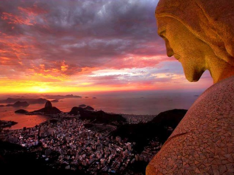 Christ the Redeemer on Corcovado Mountain