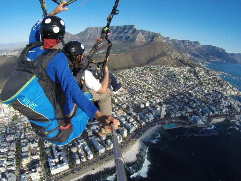 Tandem Paragliding in Cape Town