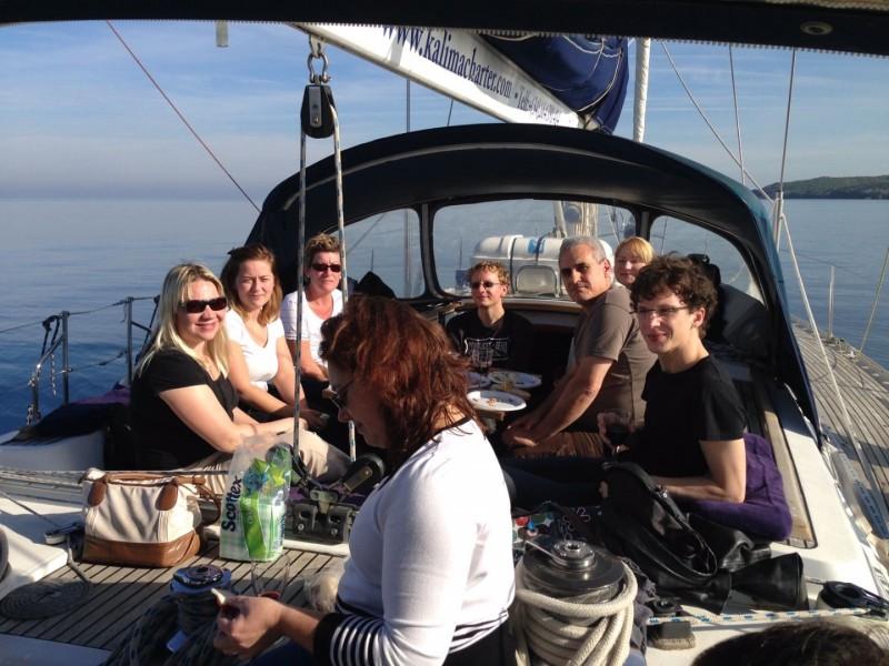 Private sailing trip