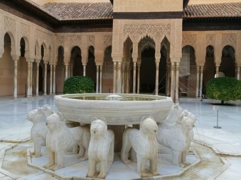 Alhambra - Red Castle of Granada /Альгамбра - Красный Замок Гранады