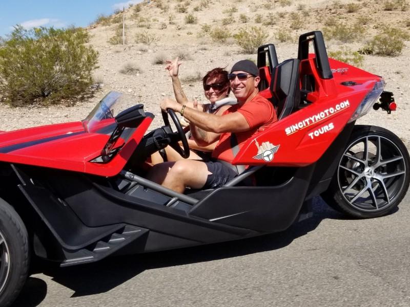 SinCity Moto Polaris Slingshot Rentals
