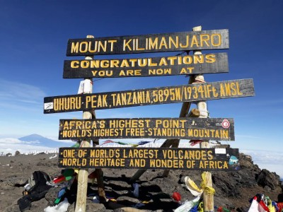 9 Days Nature tour itinerary for Mount Kilimanjaro & Moshi: Stand Atop Tanzania's Tallest Peak