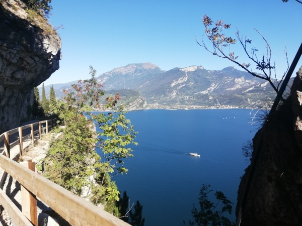 Garda Lake, walking tour