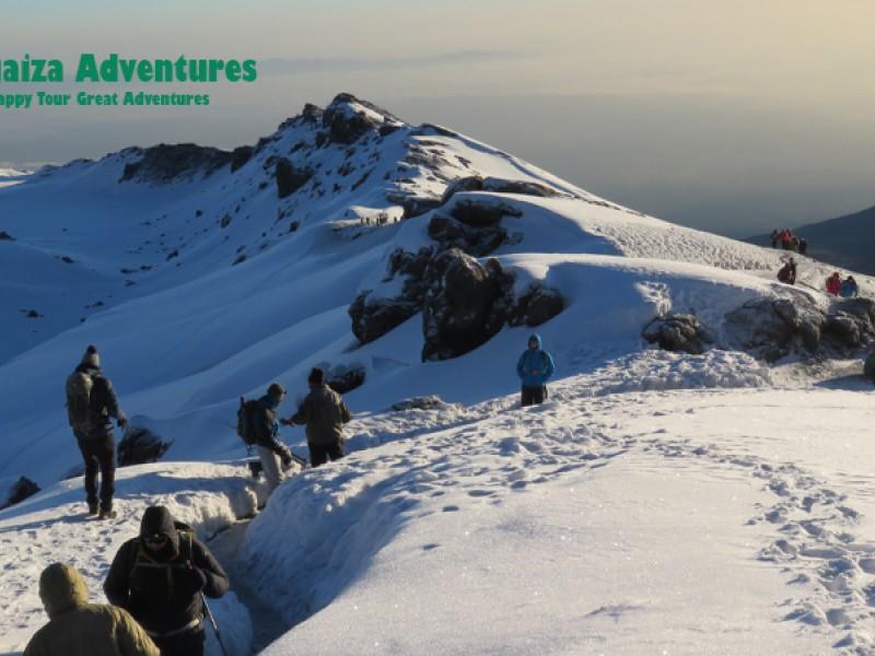 """6 DAYS KILIMANJARO CLIMBING VIA MACHAME TOURE  """"THE WHISKY ROUTE"""""""