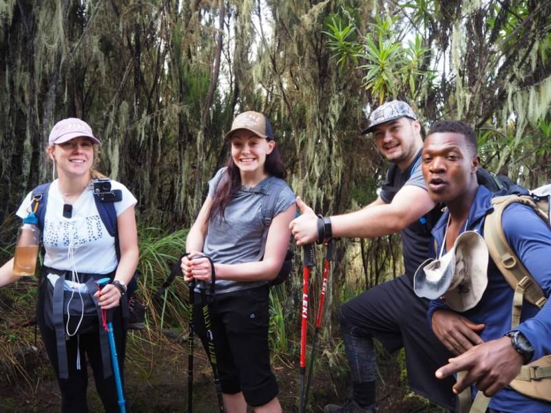 8 Days Kilimanjaro Climbing Tour Via Lemosho Route