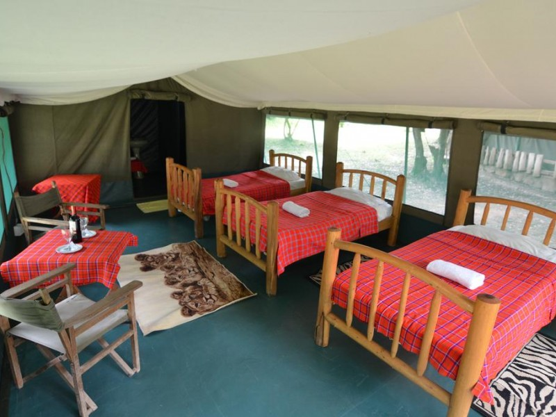 5 Days Budget Camping Kenya Safari Tours