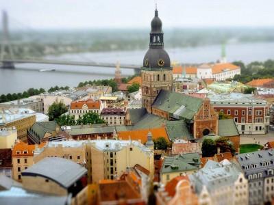 Le centre historique de Riga
