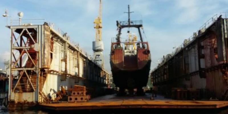 Sevastopol Shipyards-Boat tour, Sevastopol, Crimea, RU