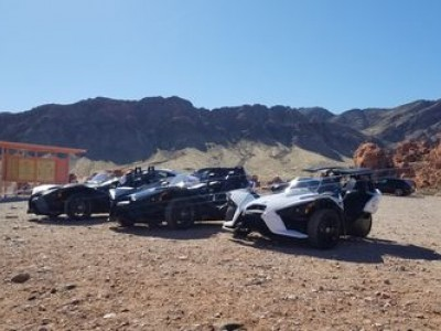 Polaris Slingshot Guided Tour to the Valley of Fire