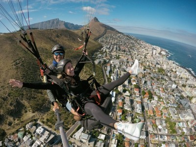 Tandem Paragliding with Skywings