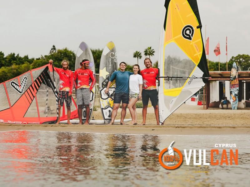 Windsurfing course