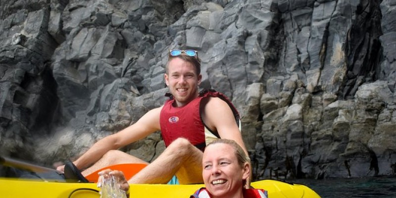 Kayaking With Dolphins and snorkeling With Turtles